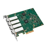 Intel Ethernet Server Adapter I340-F4 - Network adapter - PCIe 2.0 x4 - 1000Base-SX x 4 a