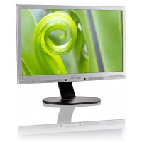 PhilIPS 241P6QPJES/00 23.8, 16.9, P-Line, Silver/Black, Texture Finish, w-led, 1920x1080, AH-IPS, 178/178 Viewing Angle CR:10, 250 cd/m2, 1000:1, 5ms gtg, Headphone out, Speakers, USB x3 - 3.0 + faster charger, 100x100 VESA, Powersensor, Tilt: -5/20,  Hei