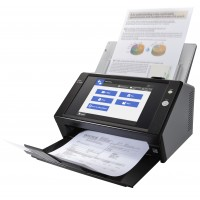 Fujitsu Network Scanner N7100 - Document scanner - Duplex - 216 x 355.6 mm - 600 dpi x 600 dpi - up to 25 ppm (mono) / up to 25 ppm (colour) - ADF ( 50 sheets ) - up to 400 scans per day - Gigabit LAN a