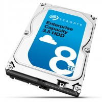 Seagate Enterprise Capacity 3.5 HDD ST8000NM0105 - Hard drive - encrypted - 8 TB - internal - 3.5 - SATA 6Gb/s - 7200 rpm - buffer: 256 MB - Self-Encrypting Drive (SED) a