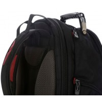 Targus Drifter 16 Laptop Backpack in Black/Red - TSB23803EU a
