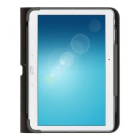 Belkin QODE Slim Style - Keyboard and folio case - Bluetooth - black a