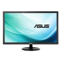 ASUS VP247H - LED monitor - 23.6 - 1920 x 1080 Full HD - TN - 250 cd/mІ - 1 ms - HDMI, DVI-D, VGA - speakers - black a