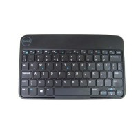Dell - Keyboard and folio case - Bluetooth - English - black keyboard, black case - for Venue 5830 Pro, 8 Pro, 8 Pro (3845) a