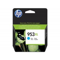 HP 953XL - 20 ml - High Yield - cyan - original - ink cartridge - for Officejet Pro 8218, 8710, 8715, 8720, 8725, 8730, 8740, 8745 a