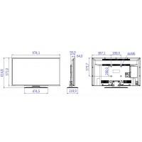 Philips 43HFL2839T - 43 Class - Professional Studio LED TV - hotel / hospitality - 1080p (Full HD) - black a