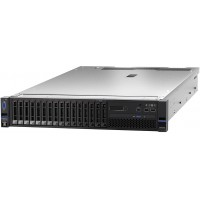 Lenovo System x3650 M5 8871 - Server - rack-mountable - 2U - 2-way - 1 x Xeon E5-2630V4 / 2.2 GHz - RAM 16 GB - SAS - hot-swap 2.5 - no HDD - G200eR2 - GigE - no OS - monitor: none - TopSeller a