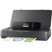 HP Officejet 200 Mobile Printer - Printer - colour - ink-jet - A4/Legal - 1200 x 1200 dpi - up to 20 ppm (mono) / up to 19 ppm (colour) - capacity: 50 sheets - USB 2.0, USB host, Wi-Fi a