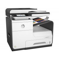 HP PageWide MFP 377dw - Multifunction printer - colour - ink-jet - Legal (216 x 356 mm) (original) - A4/Legal (media) - up to 45 ppm (copying) - up to 45 ppm (printing) - 500 sheets - 33.6 Kbps - USB 2.0, LAN, Wi-Fi(n), NFC, USB 2.0 host a
