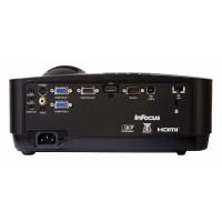 InFocus IN126x - DLP projector - 3D - 4000 lumens - WXGA (1280 x 800) - 4:3 a