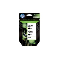 HP 339 - C9504EE - 1 x Black - Ink cartridge - For Deskjet 69XX, Officejet 6310, K7100, K7103, Photosmart 25XX, 8050, 8750, D5160, Pro B8350 a