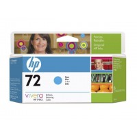 HP 72 - C9371A - 1 x Cyan - Ink cartridge - For DesignJet T1100, T1120, T1200, T1300, T2300, T610, T620, T770, T790, T795 a