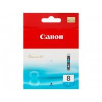 Canon CLI-8 C - 0621B001 - 1 x Cyan - Ink tank - For PIXMA iP3500,iP4500,iP5300,MP510,MP520,MP610,MP960,MP970,MX700,MX850,Pro9000 a