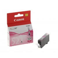 Canon CLI-521 M - 2935B001 - 1 x Magenta - Ink tank - For PIXMA iP3600,iP4700,MP540,MP550,MP560,MP620,MP630,MP640,MP980,MP990,MX860,MX870 a