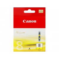 Canon CLI-8 Y - 0623B001 - 1 x Yellow - Ink tank - For PIXMA iP3500,iP4500,iP5300,MP510,MP520,MP610,MP960,MP970,MX700,MX850,Pro9000 a