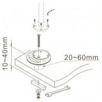 Newstar Grommet for FPMA-D910/FPMA-920/FPMA-930/FPMA-940/FPMA-1010/FPMA-1020/FPMA-1030, 10-24, Silver a