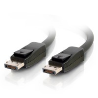 10m DisplayPort Cable with Latches, Male to Male, Black C2G Cable a