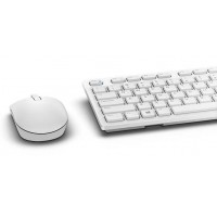 Dell KM636 - Keyboard and mouse set - wireless - UK layout - white - for Inspiron 3459, OptiPlex 30XX, 3240, Precision Mobile Workstation 3510, 7510, Vostro 32XX a