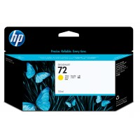 HP 72 - C9373A - 1 x Yellow - Ink cartridge - For DesignJet T1100, T1120, T1200, T1300, T2300, T610, T620, T770, T790, T795 a