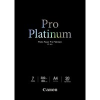 Canon Photo Paper Pro Platinum - Photo paper - A4 (210 x 297 mm) - 300 g/m2 - 20 sheet(s) a