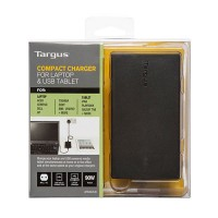 Compact Charger For Laptop and USB Tablet - UK a