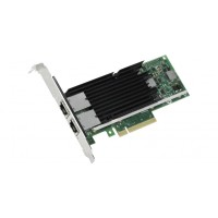 Intel Ethernet Converged Network Adapter X540-T2 - Network adapter - PCIe 2.1 x8 low profile - 10Gb Ethernet x 2 a
