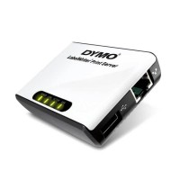 Dymo Print server - USB - 10Mb LAN - for LabelWriter 400, 400 Duo, 400 Turbo, 400 Twin Turbo, 450, 450 Duo, 450 Turbo, 450 Twin Turbo, 4XL. Alloows you to place wour LabelWriting on a network. a