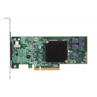 Intel RAID Controller RS3WC080 - Storage controller (RAID) - 8 Channel - SATA 6Gb/s / SAS 12Gb/s low profile - 12 GBps - RAID 0, 1, 5, 10, 50 - PCIe 3.0 x8 a