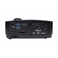 InFocus IN2124a projector, DLP, XGA (1024 x 768) native resolution, 3500 lumens of brightness, Network connectivity for easy management, Convert to be an interactive projector with optional LiteBoard adapter, Wireless connectivity with optional USB adapte