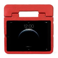 Kensington SafeGrip Rugged Case & Stand - Back cover for tablet - red - for Apple iPad Air 2 a