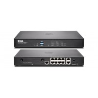 Dell SonicWALL TZ600 - Security appliance - 10 ports - 10Mb LAN, 100Mb LAN, GigE a