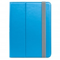 Targus Safe Fit - Flip cover for tablet - polyurethane - blue - for Samsung Galaxy Tab A (9.7 in) a