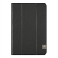 Belkin Tri-Fold Cover - Flip cover for tablet - black a