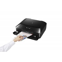 Canon PIXMA MG7750 - Multifunction printer - colour - ink-jet - 216 x 297 mm (original) - A4/Legal (media) - up to 15 ipm (printing) - 125 sheets - USB 2.0, LAN, Wi-Fi(n), NFC a