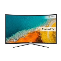 Samsung UE49K6300AK - 49 Class curved LED TV - Smart TV - 1080p (Full HD) - Micro Dimming Pro - dark titan a