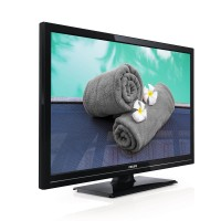 Philips 22HFL2819P - 22 Class LED TV - with TV tuner - commercial use - hotel / hospitality - 1080p (Full HD) - translucent black a