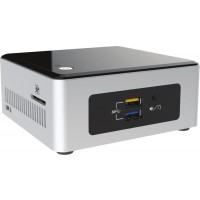 Intel Next Unit of Computing Kit NUC5PGYH - Barebone - mini PC - 1 x Pentium N3700 / 1.6 GHz - RAM 2 GB - SSD 32 GB - HD Graphics - GigE - WLAN: Bluetooth 4.0, 802.11a/b/g/n/ac - Windows 10 a