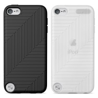 Belkin Flex Case for iPod Touch 5G in Black and Clear 2 Pack a