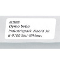 Address labels - white - 54 x 25 mm - 500 label(s) ( 1 roll(s) x 500 ) - for DYMO LabelWriter - S0722520 a
