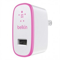 Belkin Mix-It single AC Wall charger 2.1amp in Pink a