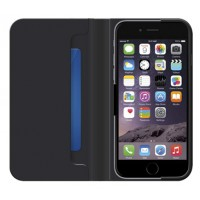 Belkin Classic Wallet Folio Case for iPhone 6 Plus Cover in Black - F8W623btC00 a