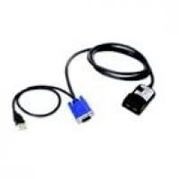 Lenovo USB Conversion Option - KVM extender - for System x3250 M4, x32XX M2, x34XX, x3500 M4, x3755, x3800, x3850 M2, x3950 M2, x3950 X5 a