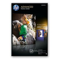 HP Advanced Glossy Photo Paper - Glossy photo paper - 100 x 150 mm - 250 g/m2 - 100 sheet(s) a
