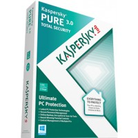 Kaspersky PURE 3.0 Total Security 3 user 1 year - Electronic Software Download a
