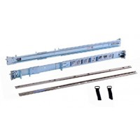 Dell 2/4-Post Static Rack Rails for 1U and 2U systems - Rack rail kit - for PowerEdge R220, R230 a
