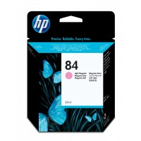 HP 84 - C5018A - 1 x Light Magenta - Ink cartridge - For DesignJet 10ps, 120, 120nr, 20ps, 50ps a