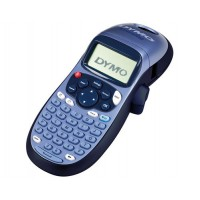 DYMO LetraTag LT-100H - Labelmaker - monochrome - thermal paper - Roll (1.2 cm) - 160 dpi - up to 7 mm/sec - 1 line printing, 2 line printing, real time clock a