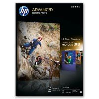 HP Advanced Glossy Photo Paper - Glossy photo paper - A4 (210 x 297 mm) - 50 sheet(s) a