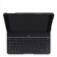 Belkin Qode Ultimate Premium Keyboard Hard Case with full protection and multi angle viewing and auto wake for iPad Air - Black F5L151eaBLK a