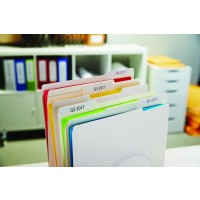 Suspension file labels - white - 50 x 12 mm - 220 label(s) ( 1 roll(s) x 220 ) - for DYMO LabelWriter - S0722460 a